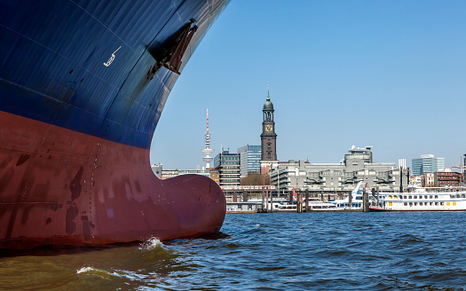 Hamburg; Ship`s Bow