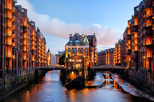 Hamburg Speicherstadt, Germany