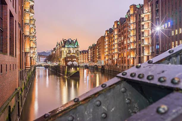 Hamburg Speicherstadt - Wasserschloss – Foto