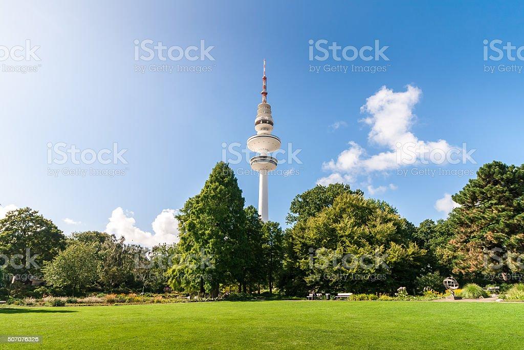 Hamburg Stadpark stock photo