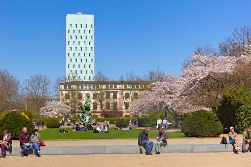 Hamburg-Altona in Springtime