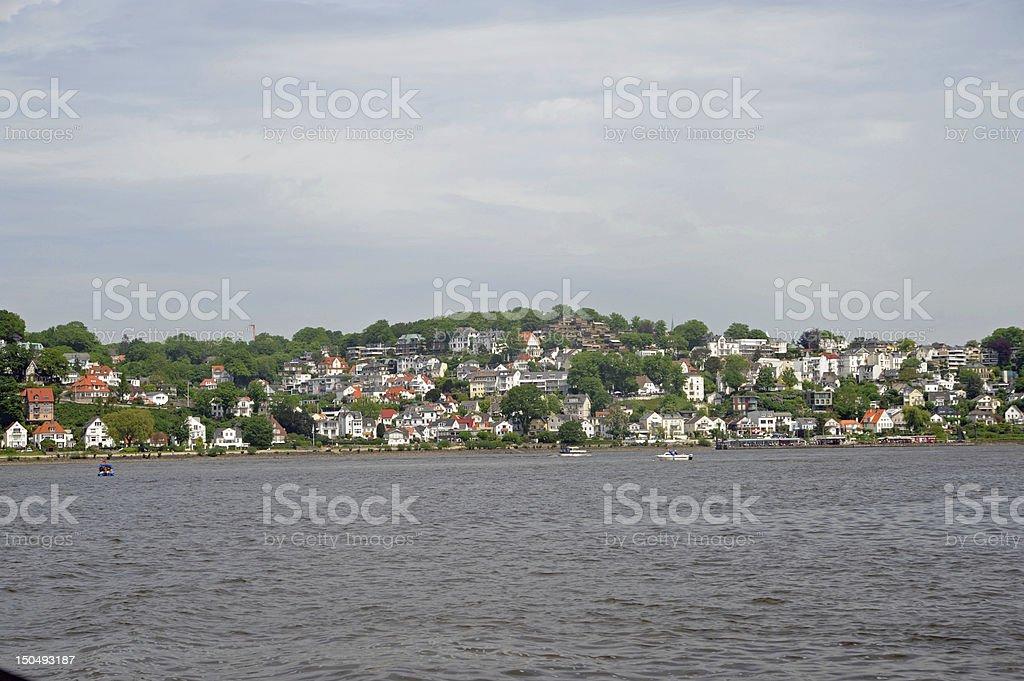 Hamburg-Blankenese stock photo
