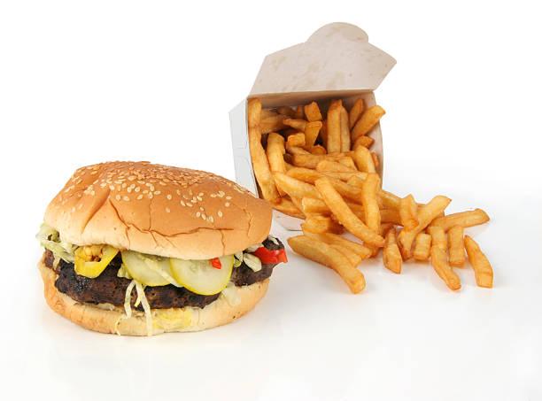 Hamburger 1.4 stock photo