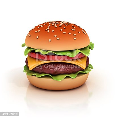 istock hamburger 3d illustration 499639289
