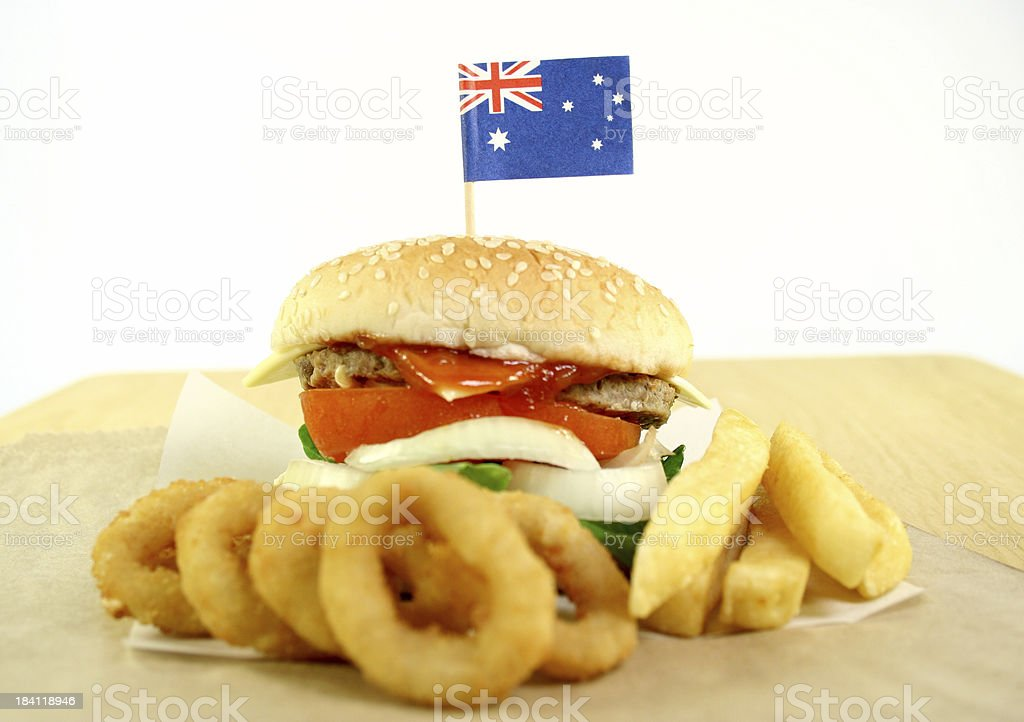 hamburger - Royalty-free Australia Day Stock Photo
