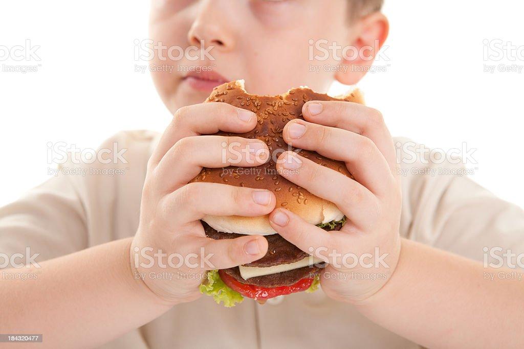 Hamburger-Schnellgericht – Foto