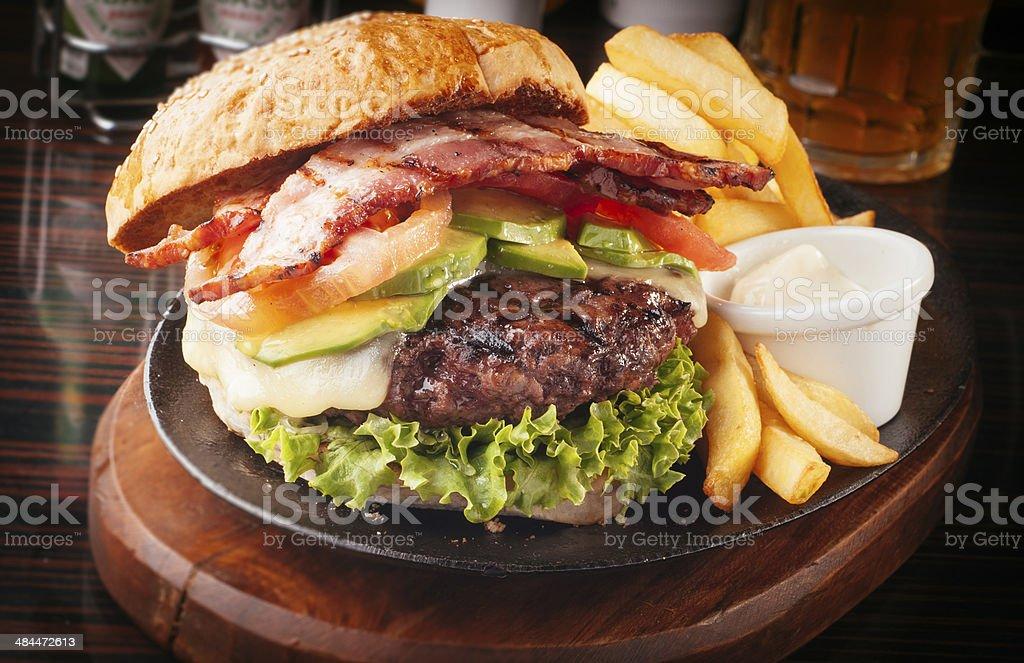 hamburger - foto de stock