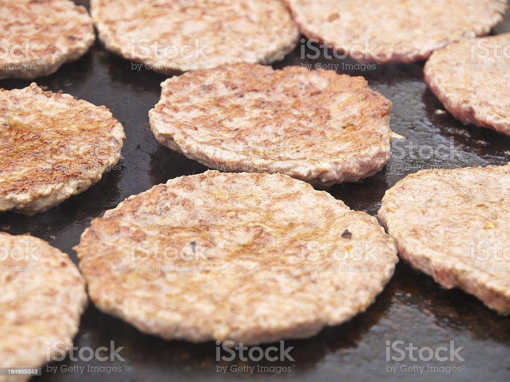Hamburgers royalty-free stock photo