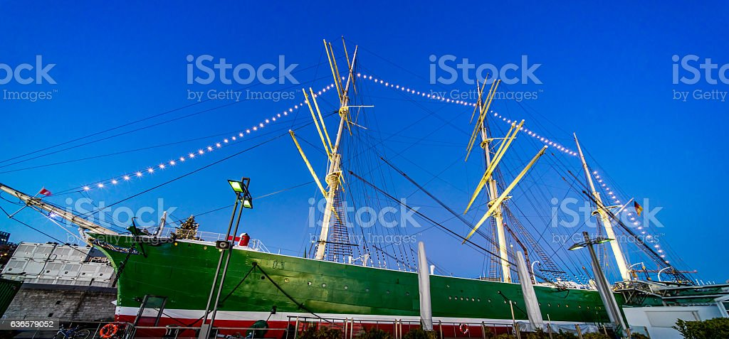 Hamburgs Rickmer Rickmers stock photo