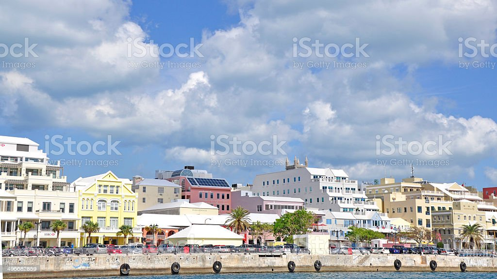 Hamilton, Bermuda stock photo