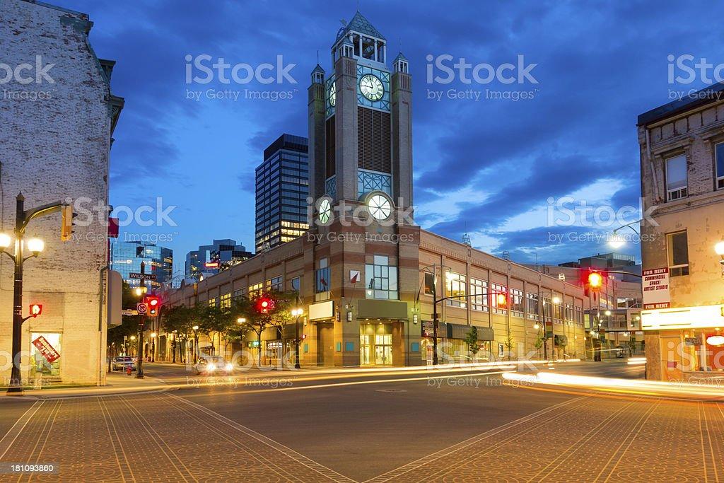 Hamilton City Centre Shopping Mall  in Ontario Canada stock photo