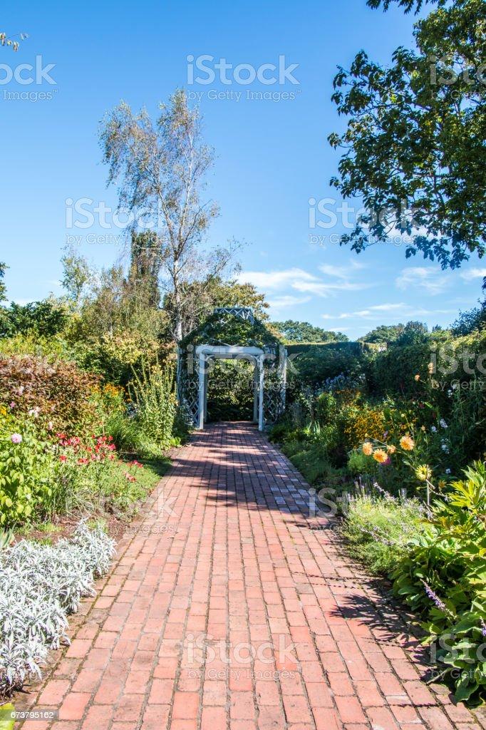 Jardins de Hamilton, Nouvelle-Zélande photo libre de droits