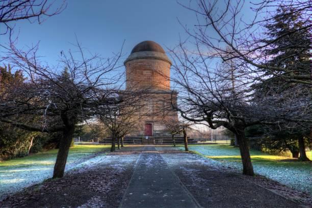 Hamilton Mausoleum stock photo