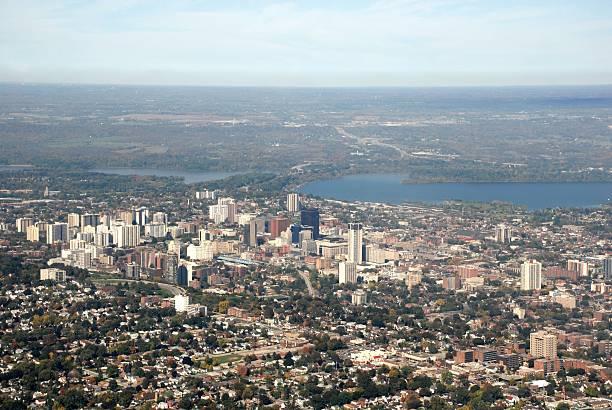 Hamilton, Ontario, aerial Blick auf die Stadt – Foto