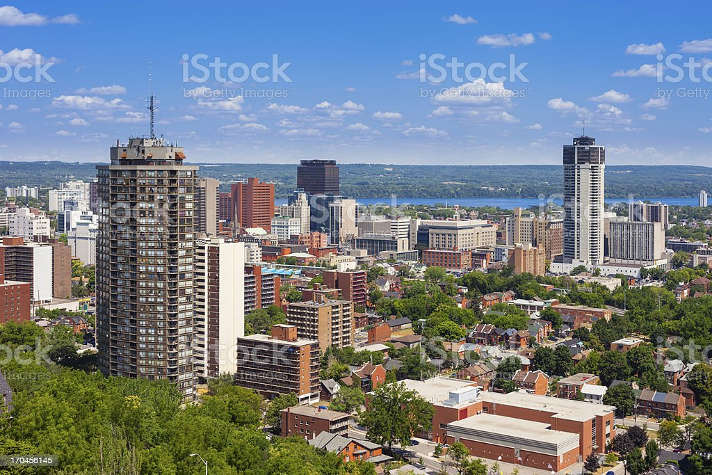 Hamilton, Ontario, Canada stock photo
