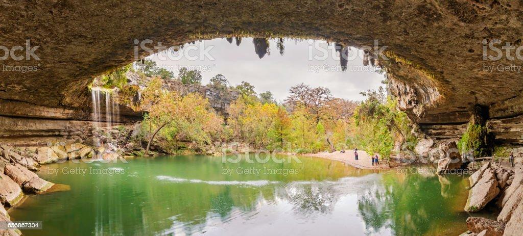 Hamilton Pool Preserve near Austin Texas USA stock photo