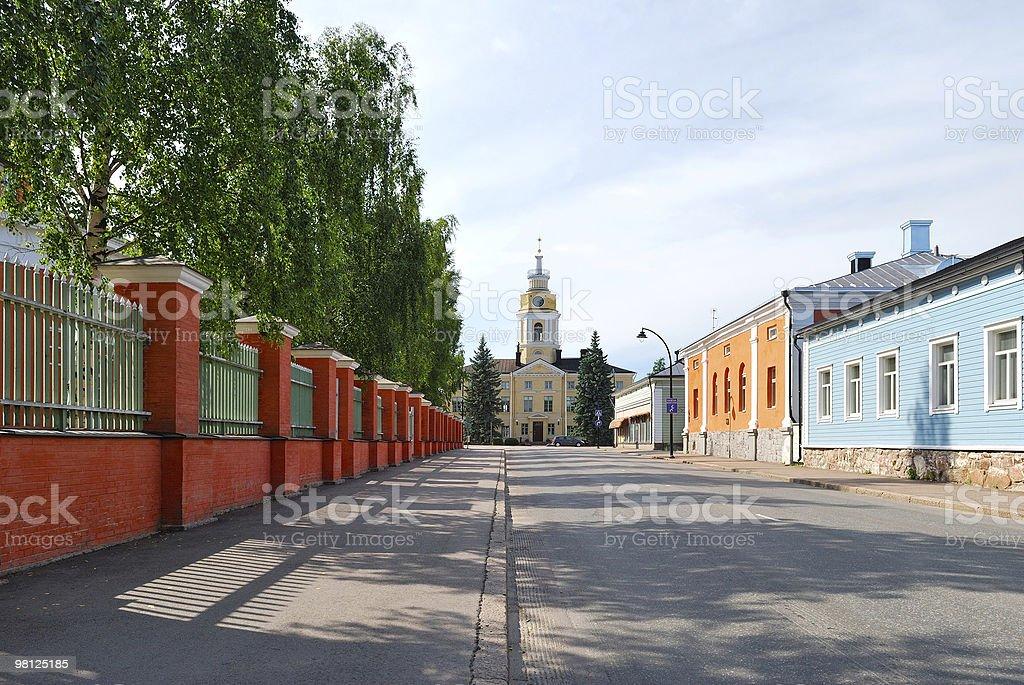 Hamina. Finland royalty-free stock photo