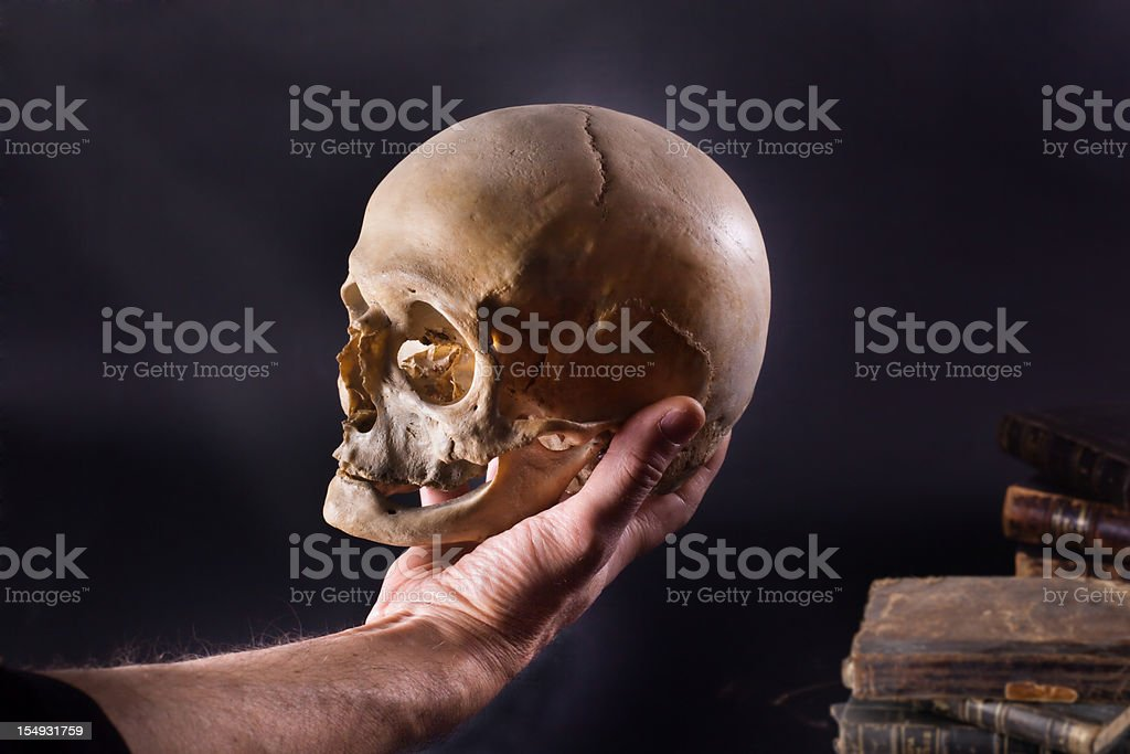 Hamlet stock photo