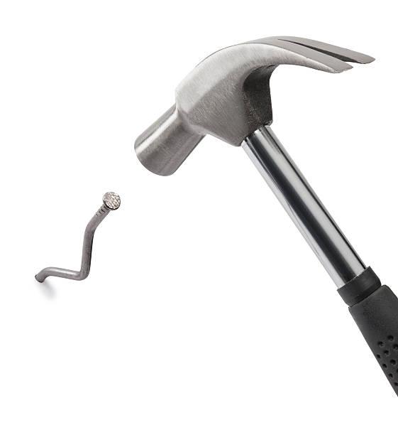 Hammer und Nagel – Foto