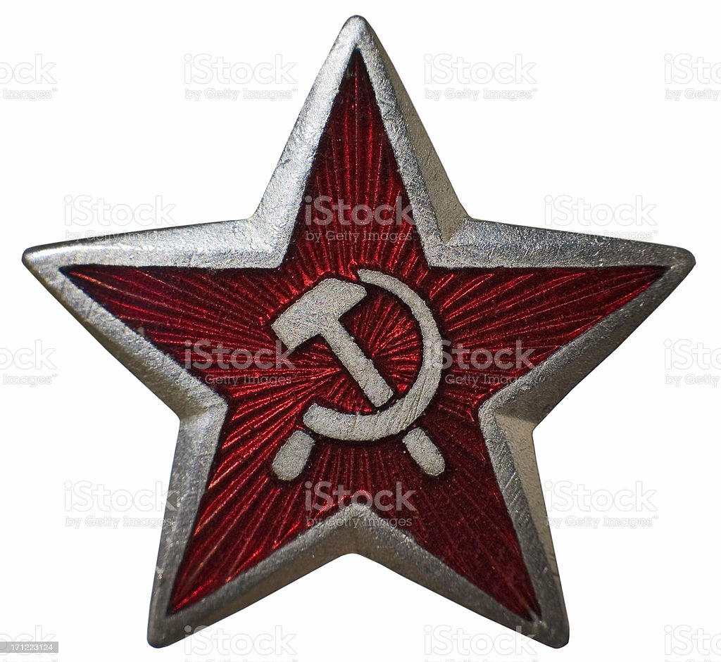 Hammer and Sickle royalty-free stock photo