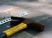 Nail - Work Tool, Hammer, Wood - Material, Work Tool, Hand Tool