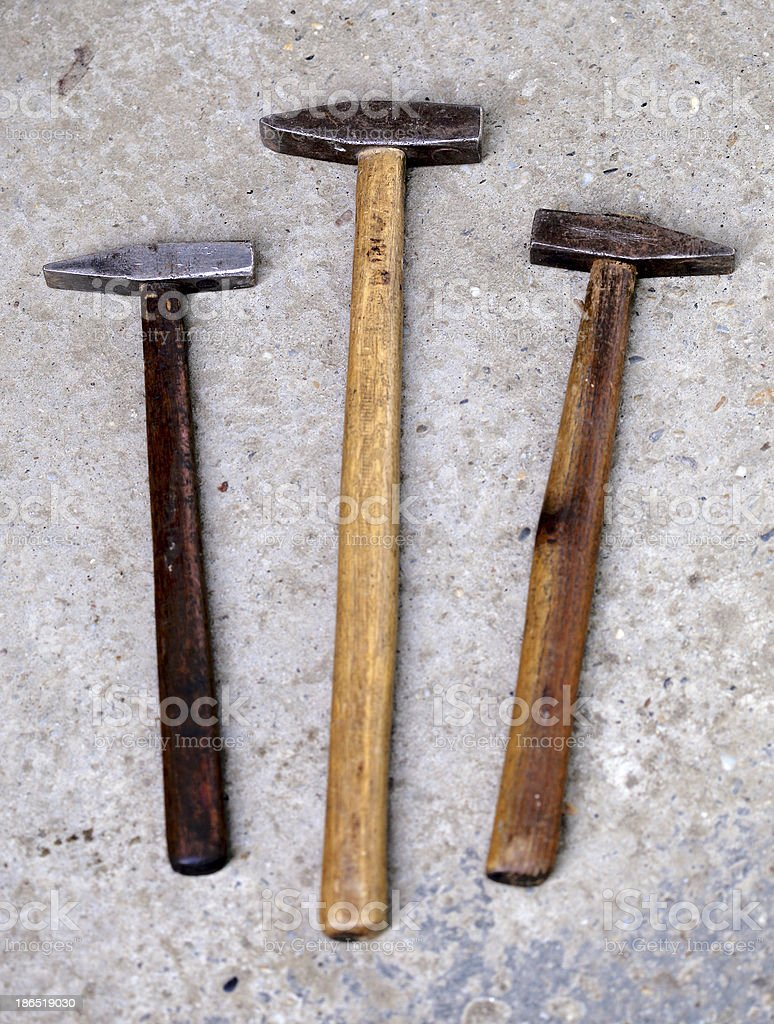 Hammer royalty-free stock photo