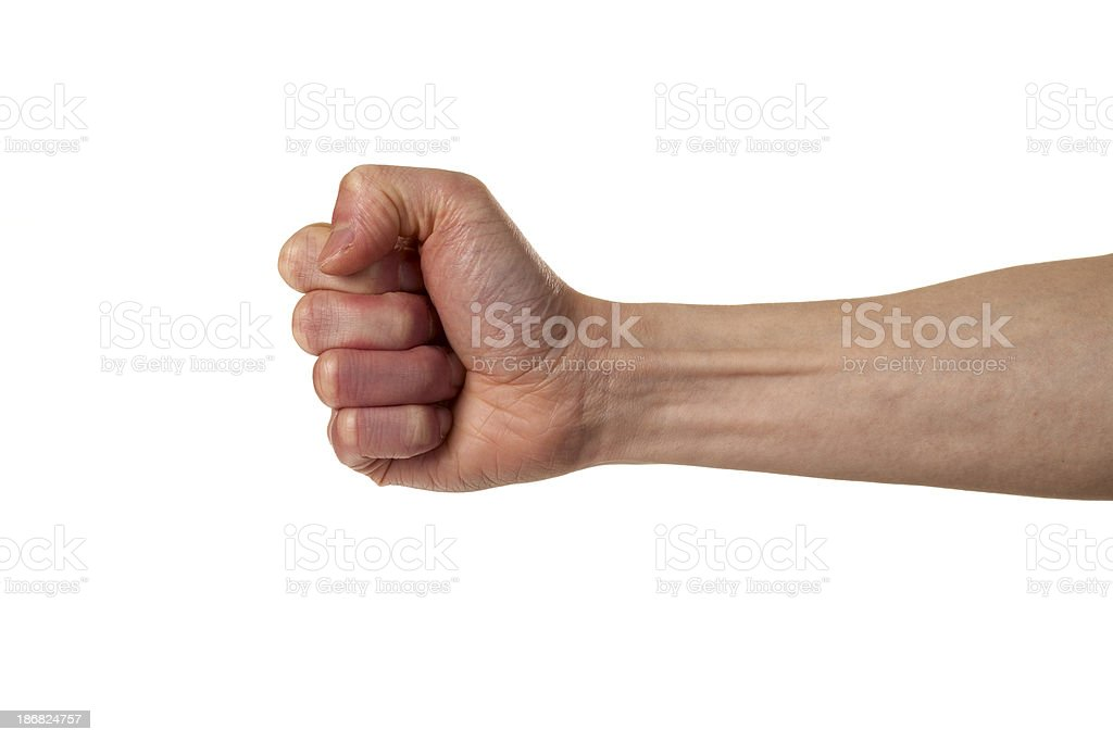 Hammer Sign royalty-free stock photo