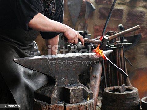 istock Hammering Iron 172666248