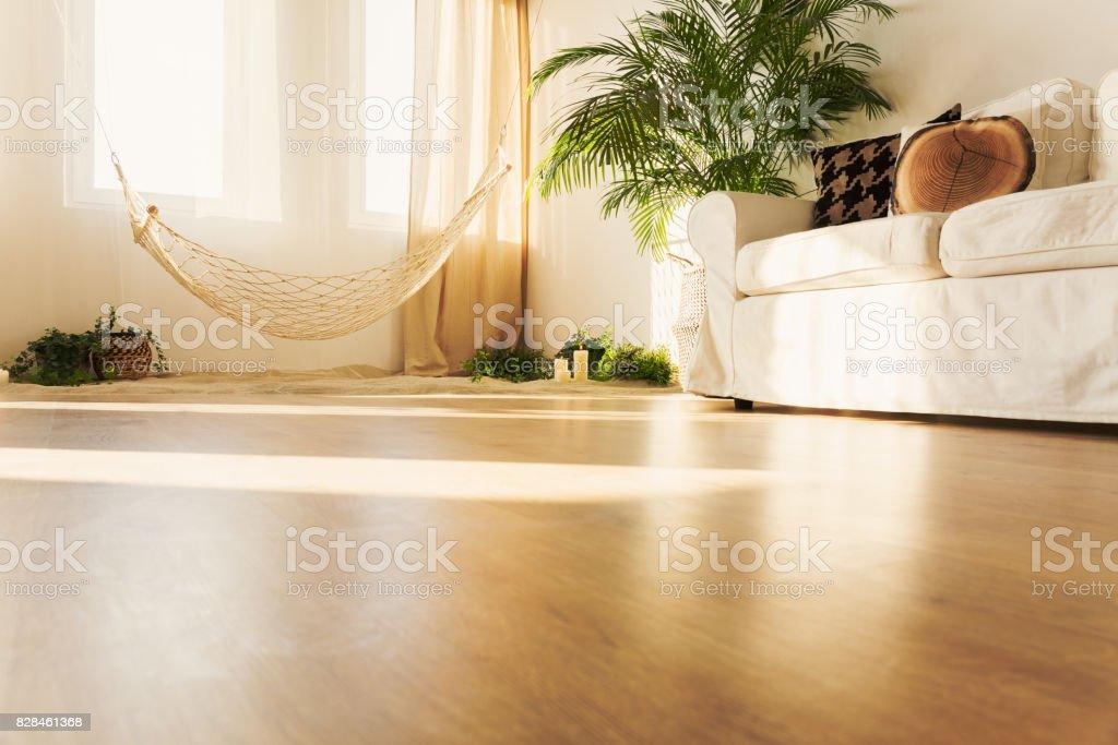 Hängematte und sofa – Foto
