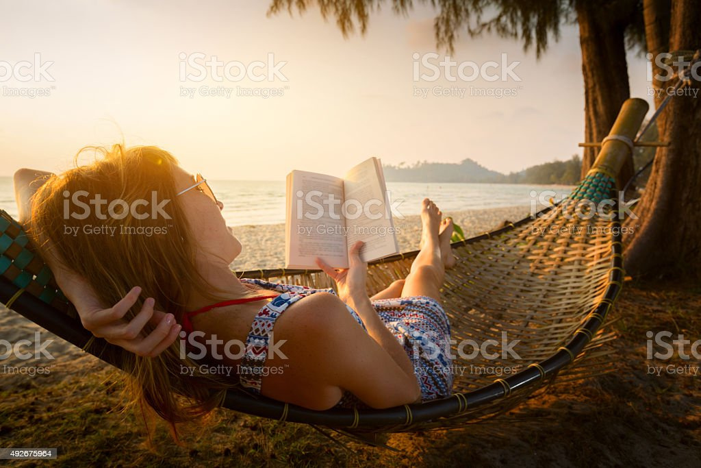 Hammock stock photo