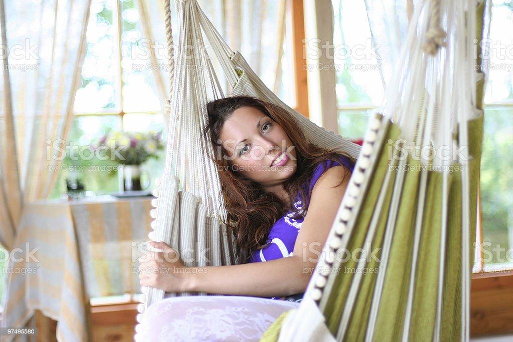 hammock royalty-free stock photo