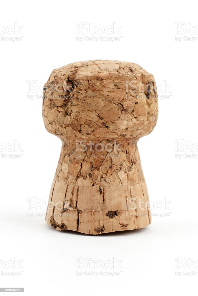 Сhampagne cork stock photo