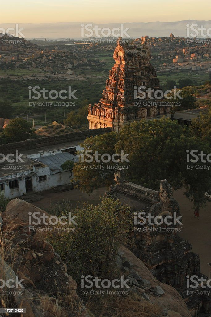 Hampi royalty-free stock photo