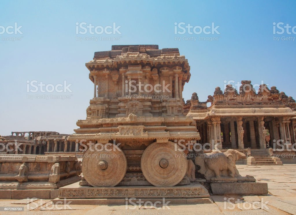 Hampi Ruins stock photo