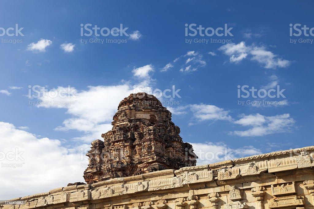 Hampi temple royalty-free stock photo