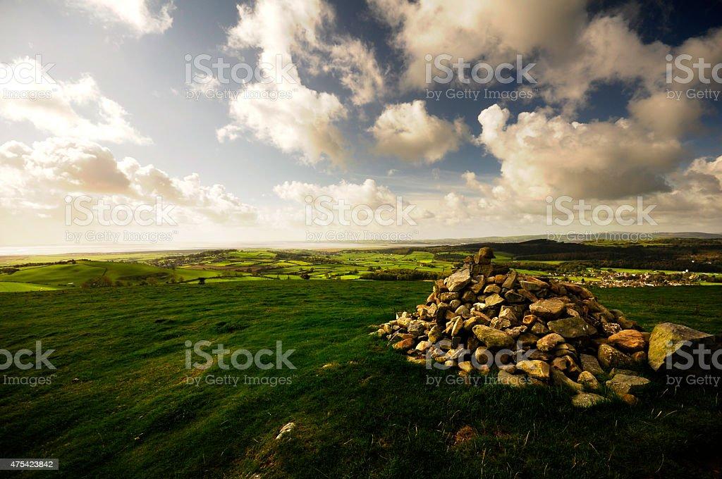 Hamps Fell stock photo