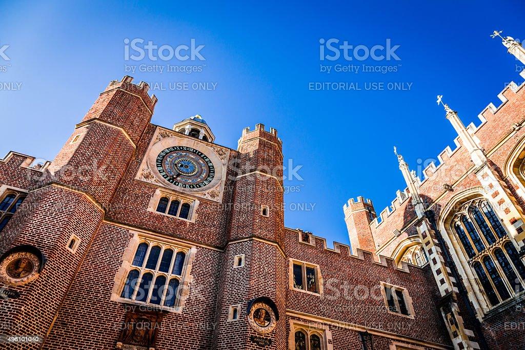 Hampton Court Palace, London, UK stock photo