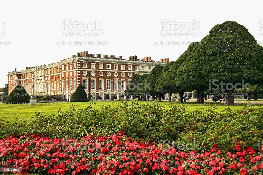 Hampton Court Palace stock photo