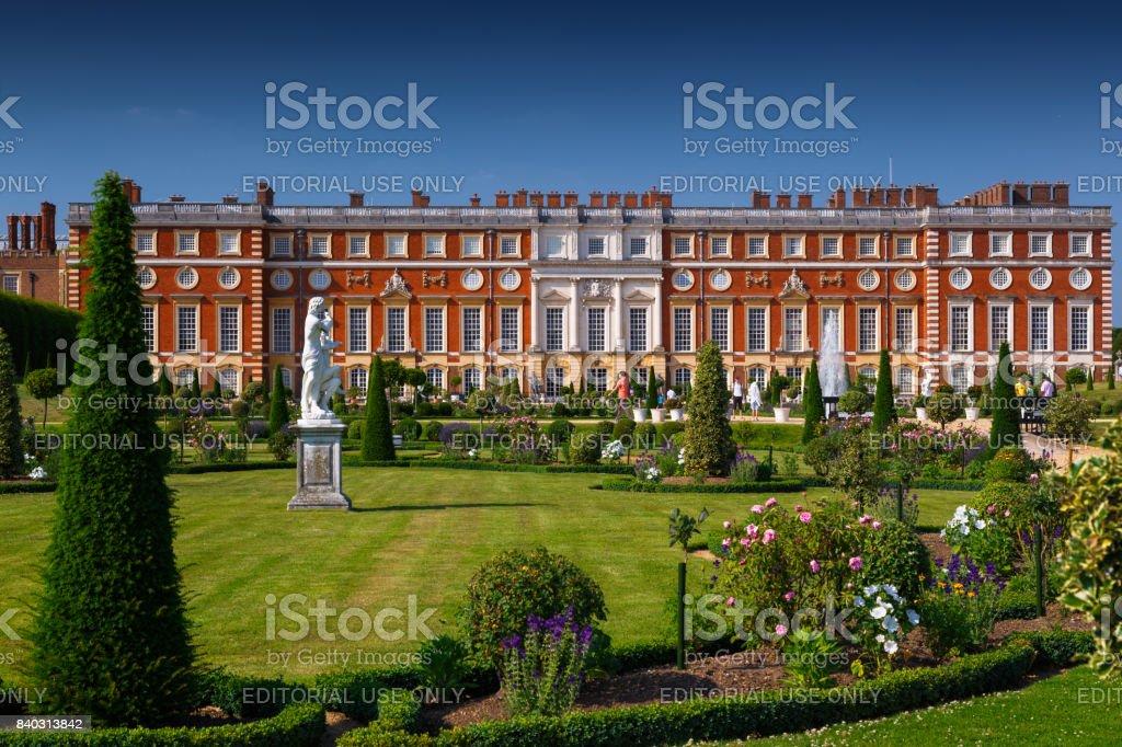 Hampton Court Palace, Richmond, London, England, UK stock photo