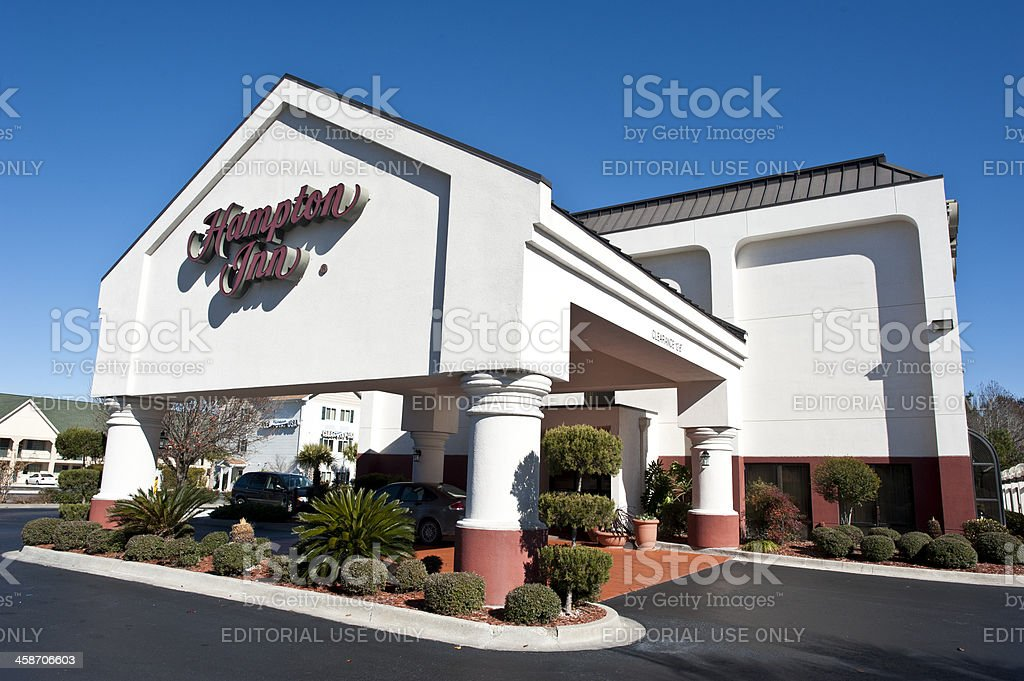 Hampton Inn at Darien, Georgia stock photo