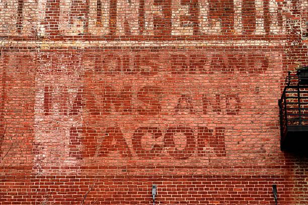 Hams and Bacon stock photo