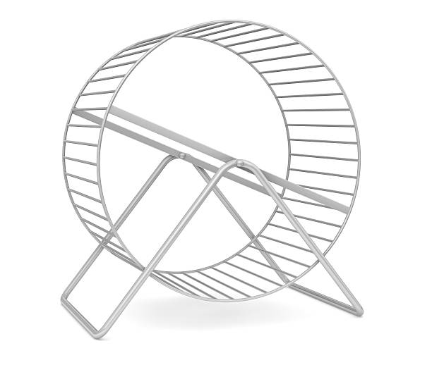 how to draw a hamster wheel