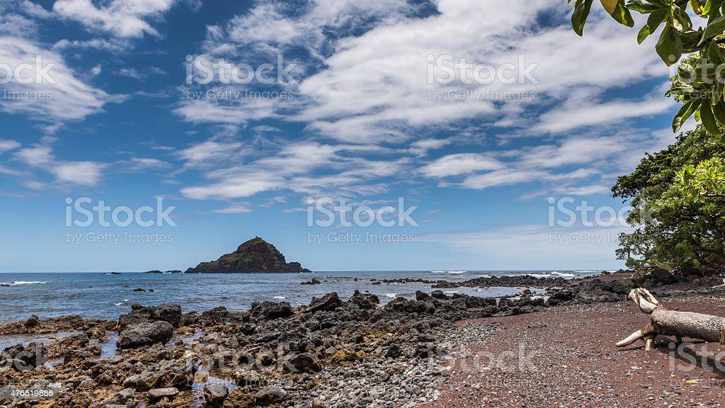 Hana Bay stock photo