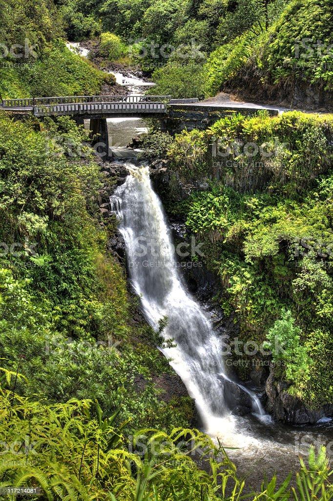 Hana Highway royalty-free stock photo