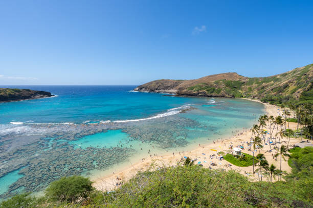 Hanauma Bay – Oahu, Hawaii stock photo