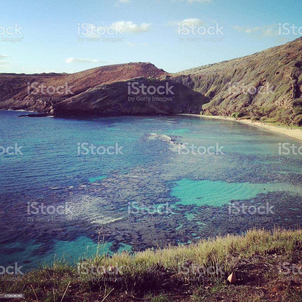 Hanauma Bay Oahu stock photo