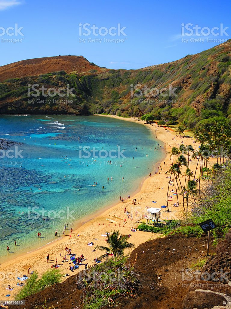 Hanauma Bay royalty-free stock photo