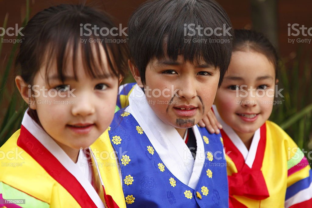 Hanbok stock photo