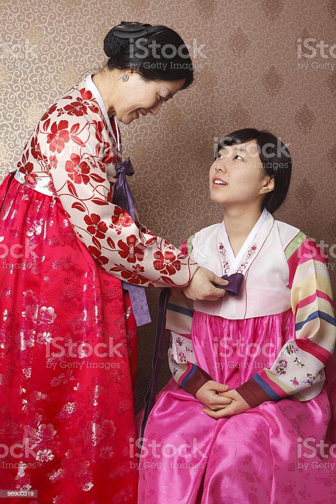 Hanbok royalty-free stock photo