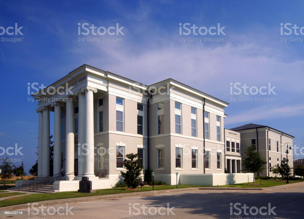 Hancock County Courthouse  (MS) stock photo